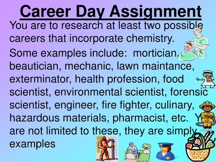 Career Day Assignment
