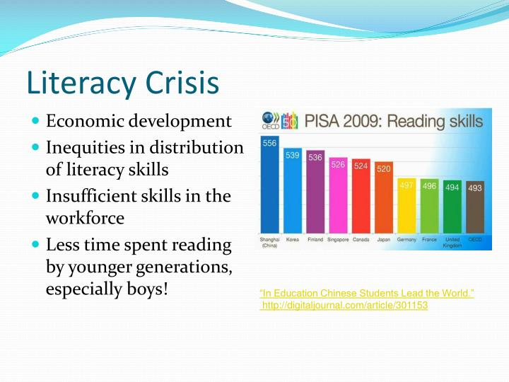 Literacy Crisis