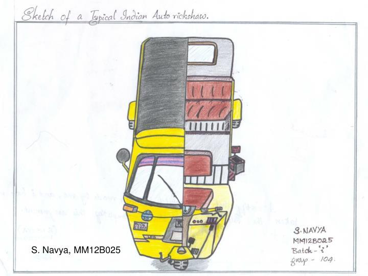 S. Navya, MM12B025