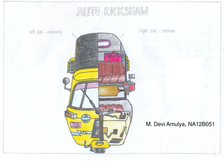 M. Devi Amulya, NA12B051