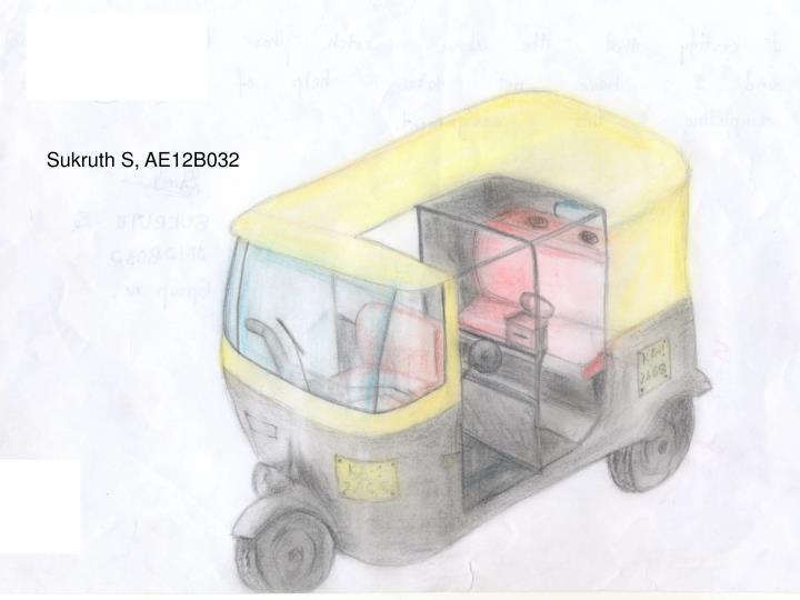 Sukruth S, AE12B032