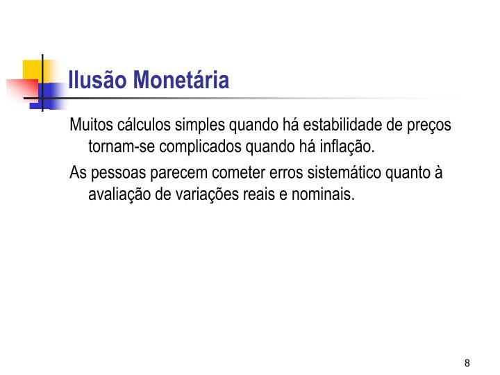 Ilusão Monetária