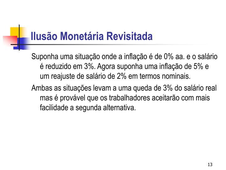 Ilusão Monetária Revisitada