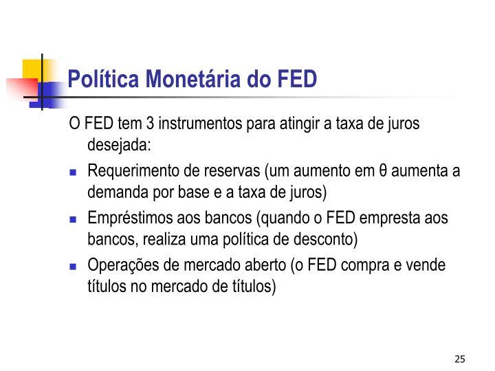 Política Monetária do FED