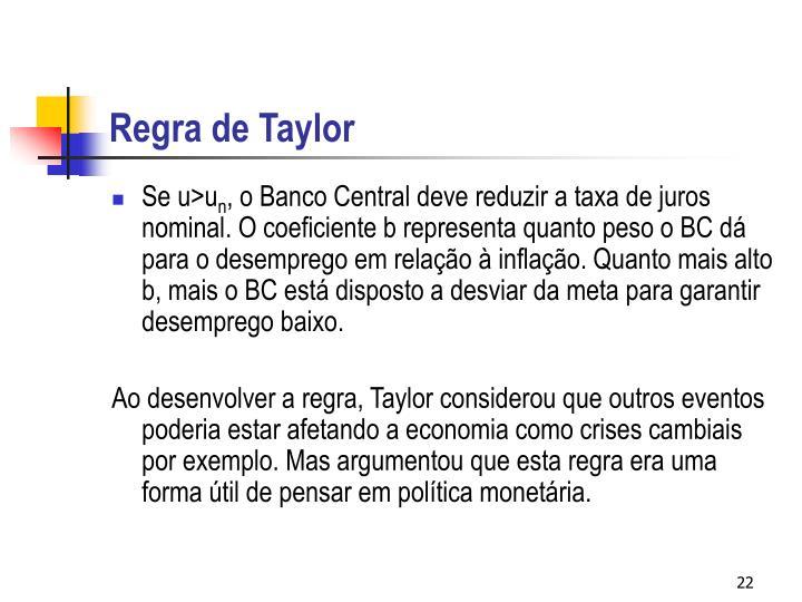 Regra de Taylor