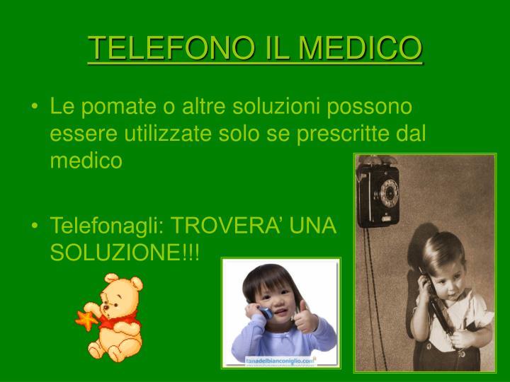 TELEFONO IL MEDICO