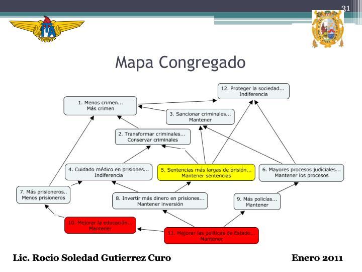 Mapa Congregado