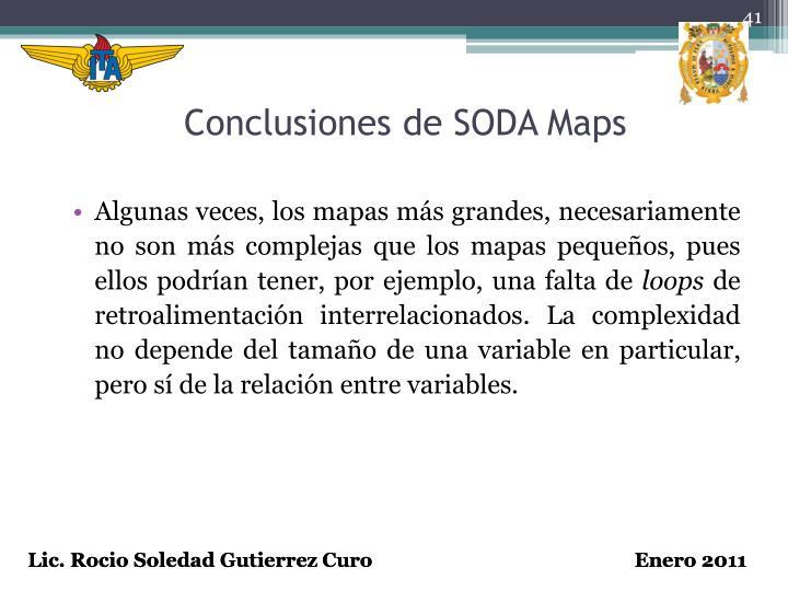 Conclusiones de SODA