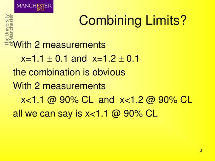 Combining Limits?
