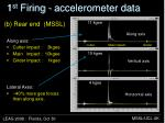 1 st firing accelerometer data1