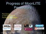 progress of moonlite penetrators