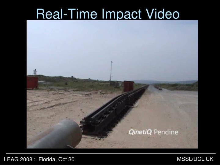 Real-Time Impact Video