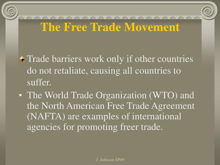 The Free Trade Movement