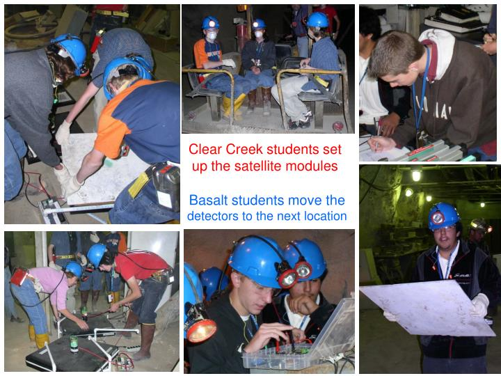 Clear Creek students set