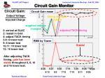 circuit gain monitor