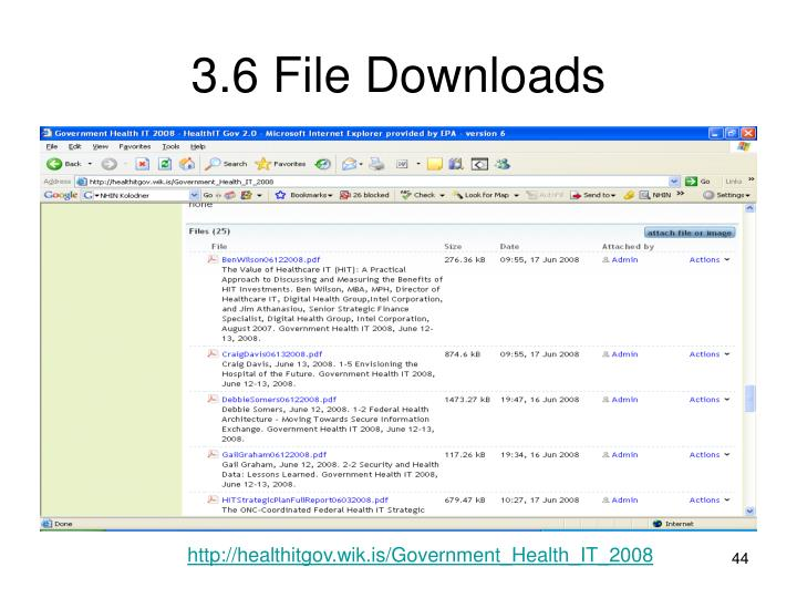 3.6 File Downloads