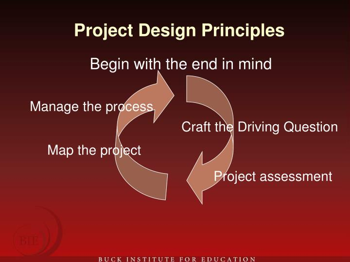 Project Design Principles
