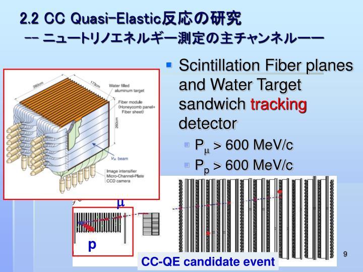 2.2 CC Quasi-Elastic