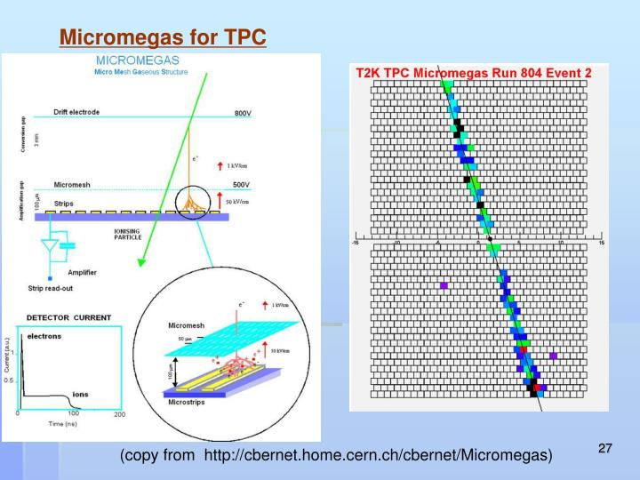 Micromegas for TPC