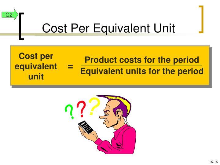 Cost per