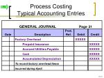 process costing typical accounting entries6