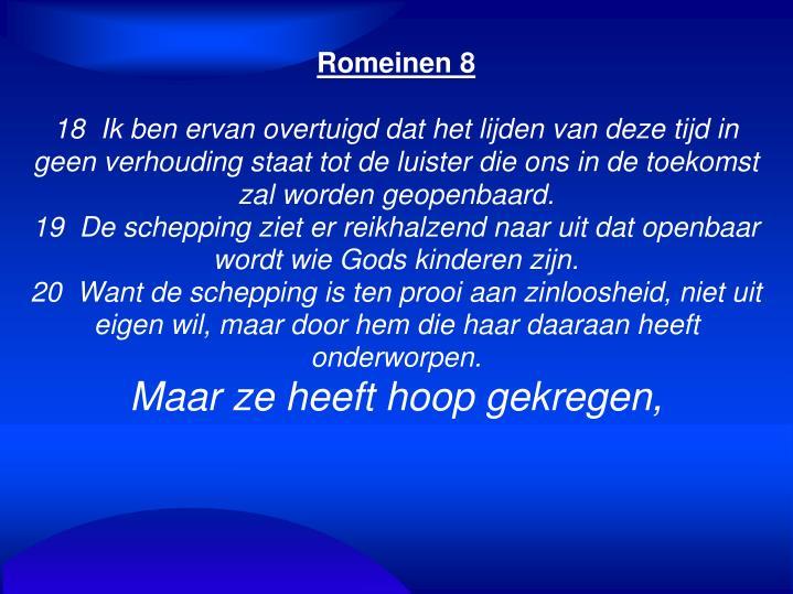 Romeinen 8