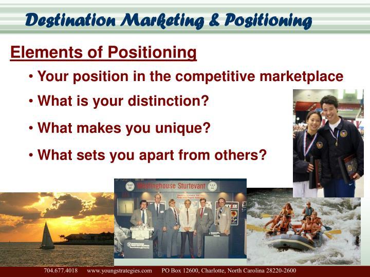 Destination Marketing & Positioning