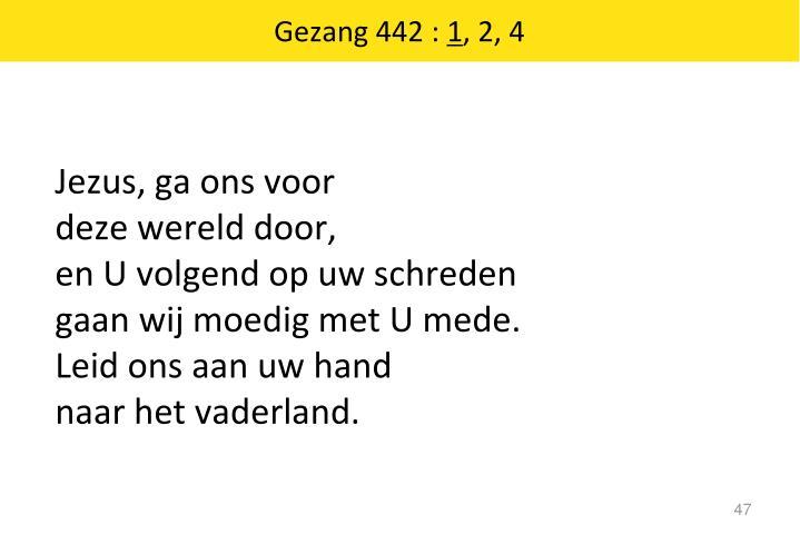 Gezang 442 :