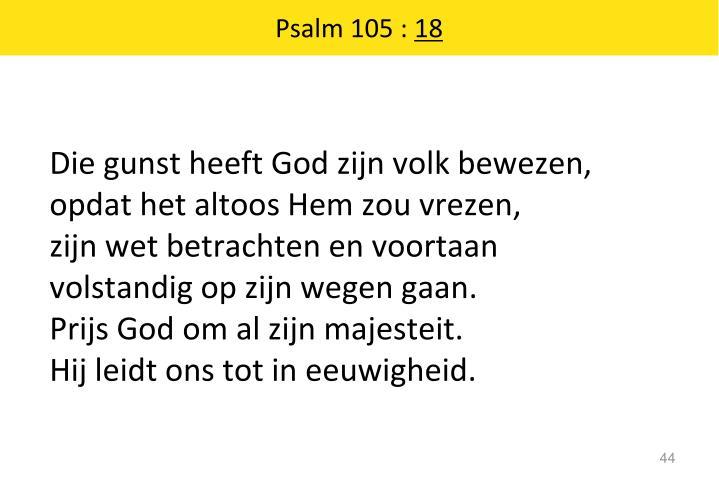 Psalm 105 :