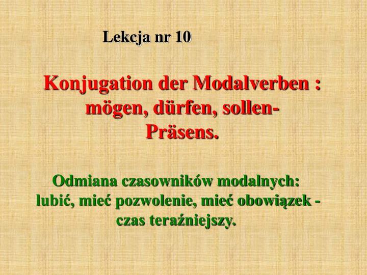 Lekcja nr 10