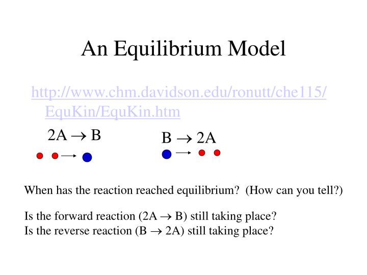 An Equilibrium Model