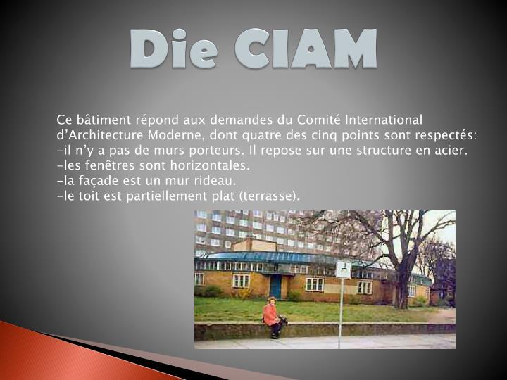Die CIAM