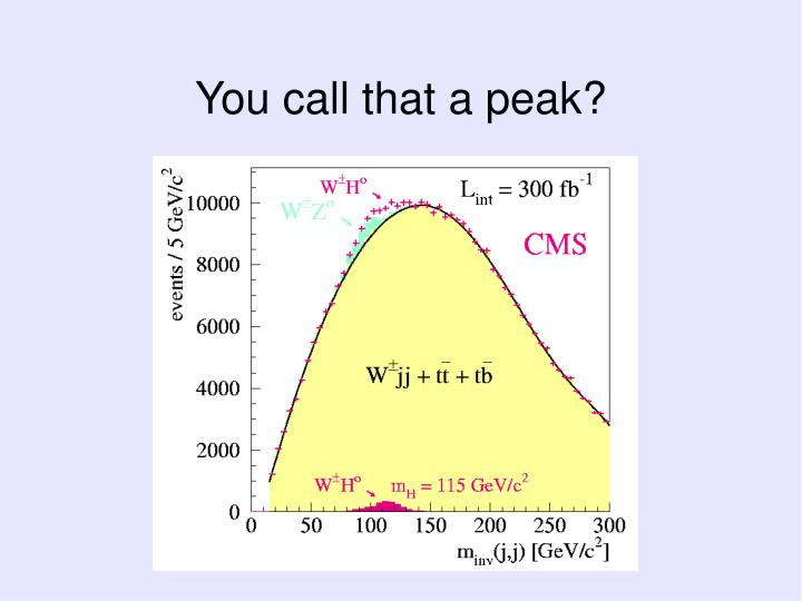 You call that a peak?