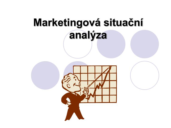 Marketingová situační analýza
