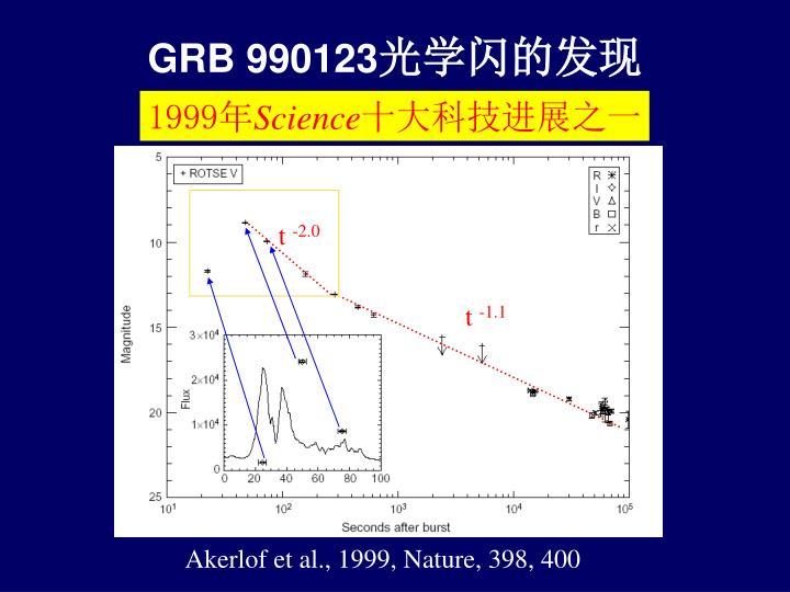 GRB 990123