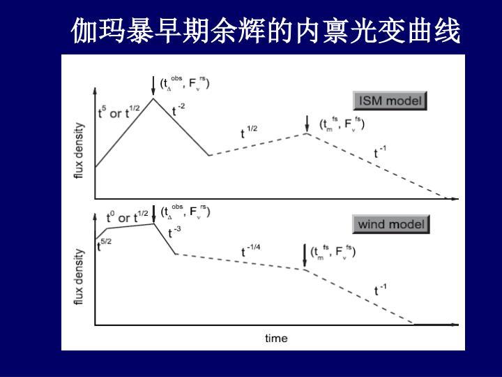 伽玛暴早期余辉的内禀光变曲线