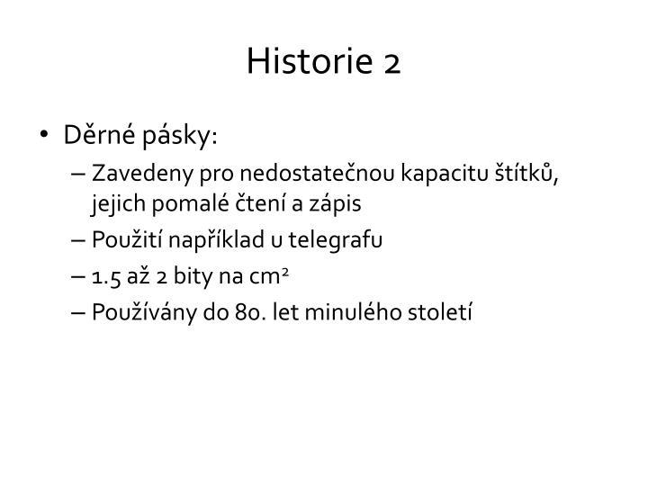 Historie 2
