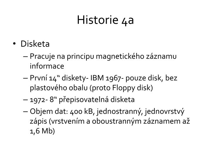 Historie 4a
