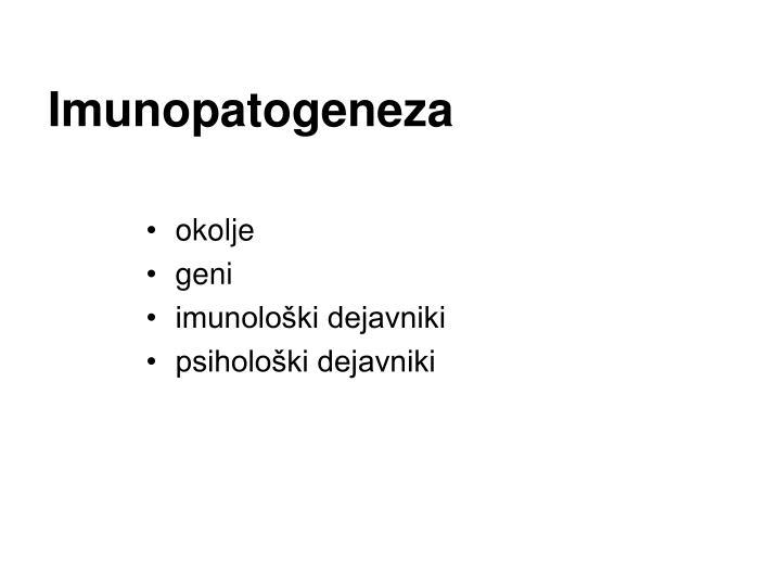 Imunopatogeneza