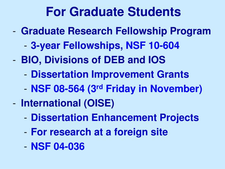 nsf sociology dissertation 11/14/10] american fellowships support women doctoral candidates completing dissertations nsf doctoral dissertation sociology and scholars seeking this page provides information about prestigious scholarships prestigious scholarships are among the most well-known and most generous scholarships.
