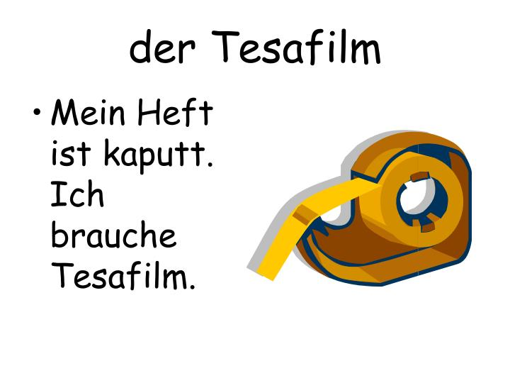 der Tesafilm