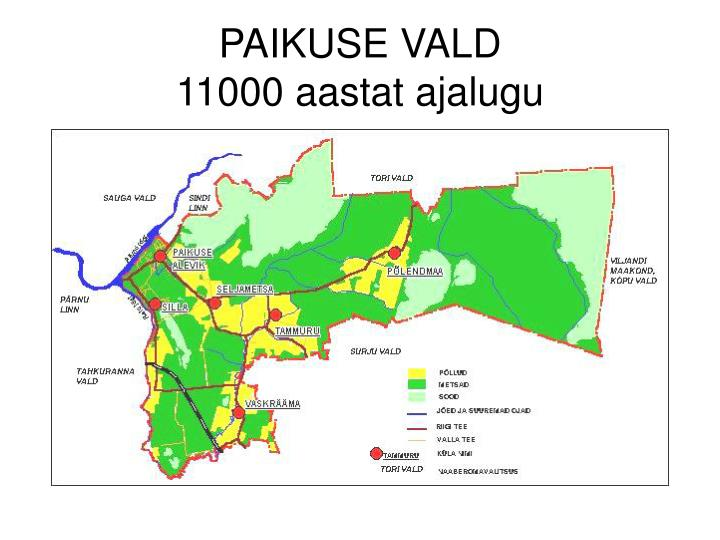 PAIKUSE VALD