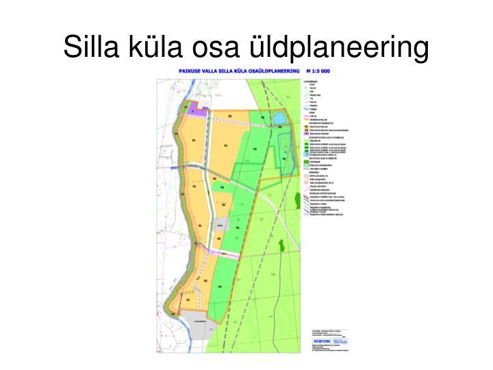 Silla küla osa üldplaneering
