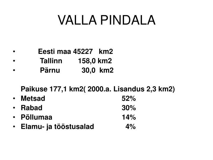 VALLA PINDALA