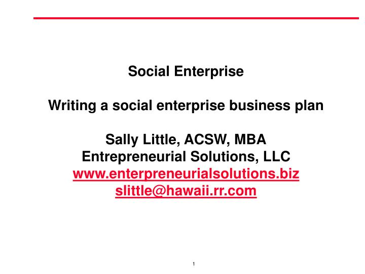 Www.How To Write A Business Plan