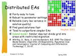 distributed eas