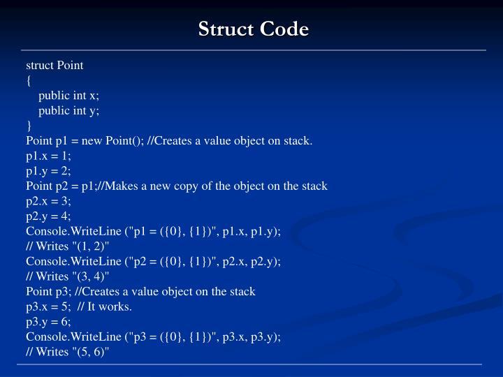 struct Point