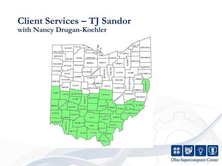 Client Services – TJ Sandor