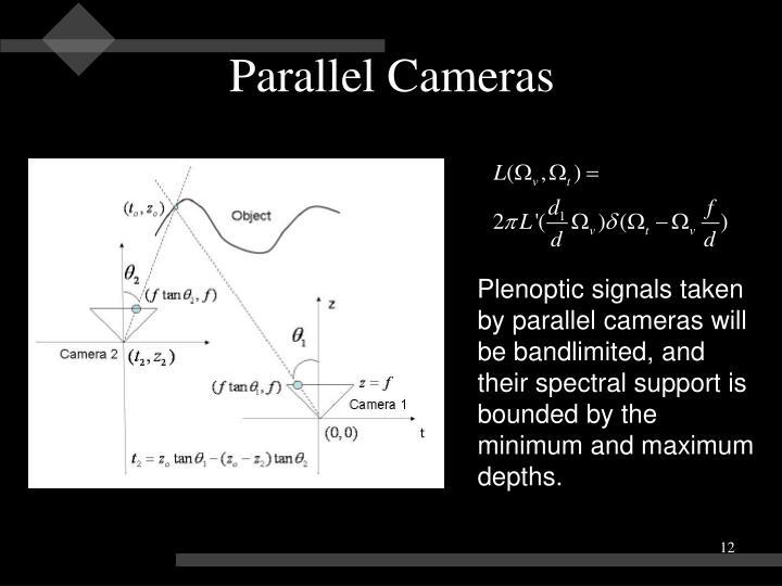 Parallel Cameras