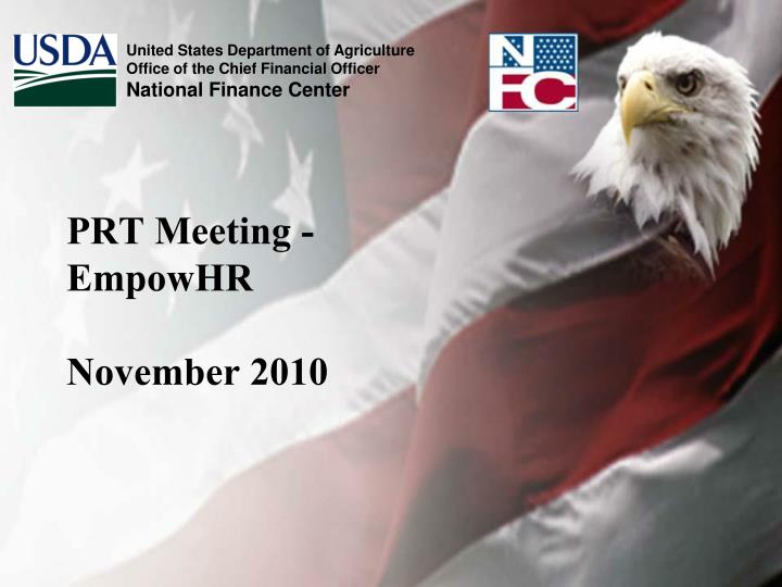 Prt meeting empowhr november 2010